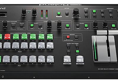 """電子楽器のローランドはなぜ""""世界初""""の業務用映像機器を開発できたのか (1/5) - MONOist(モノイスト)"""