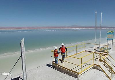 巨大なため池に地下水をくみ上げて天日干しにするだけでリチウムを産出できる南米チリのアタカマ塩湖 - GIGAZINE