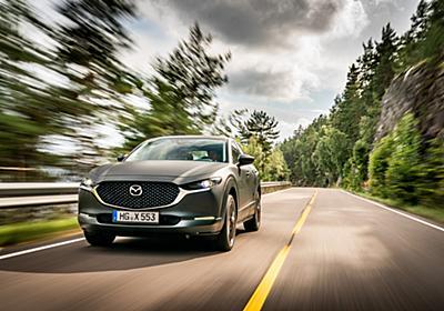 【試乗インプレ】プロトタイプEV「e-TPV」はマツダの目指す新しい電動化車両の姿だった / マツダの電動化車両を振り返りつつ、試乗会場にノルウェーを選んだ理由を考察 - Car Watch