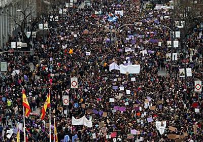 痛いニュース(ノ∀`) : 【コロナ】 スペインで12万人が国際女性デー行進 → 感染者1日で2100人増へ - ライブドアブログ