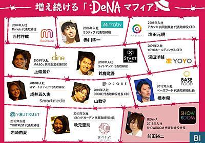 """DeNAマフィア""溜まり場に潜入。起業家続々輩出する""遺伝子""はなぜ生まれる   BUSINESS INSIDER JAPAN"