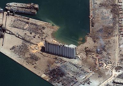 レバノン爆発の原因物質、インドの港にも約700トン 韓国から輸入 写真3枚 国際ニュース:AFPBB News