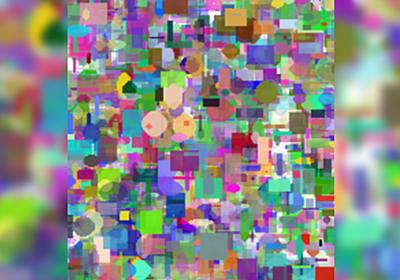 みんなでエッチに見える方の画像を選ぶ『遺伝的アルゴリズムで最高にエッチな画像を作ろう!』→3500世代目にしておっぱいとお腹誕生へ - Togetter