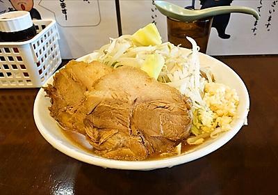 【G系】『麺屋 歩夢』でミニラーメンのボリューム感を確かめてみた【豚星。】 | Food News(フードニュース)