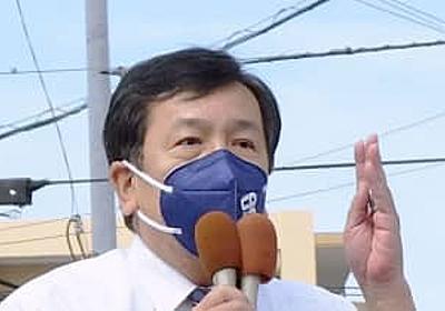 立民枝野氏「所得税1年間ゼロ」 年収1千万円以下を支援   共同通信