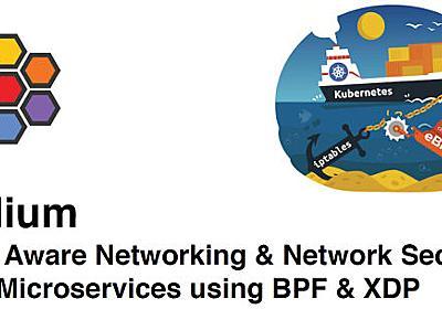 iptablesを置き換えるBPFをコンテナネットワークに使うCilium | Think IT(シンクイット)