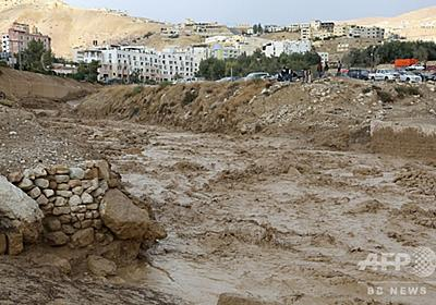 ヨルダンのペトラ遺跡で鉄砲水、12人死亡 行方不明者の捜索続く 写真14枚 国際ニュース:AFPBB News