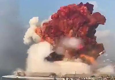 レバノンの首都・ベイルートの港湾地区で爆発事故、10km離れた地点でも被害が発生 - GIGAZINE