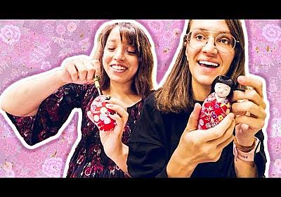 WE MADE TRADITIONAL JAPANESE DOLLS! [Iwatsuki Doll Experience]