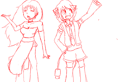 Sinsy and Gizmo WIP by Mister-Pancake on DeviantArt