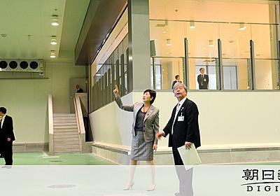開業控えた豊洲市場で記念式典 小池知事は安全アピール:朝日新聞デジタル