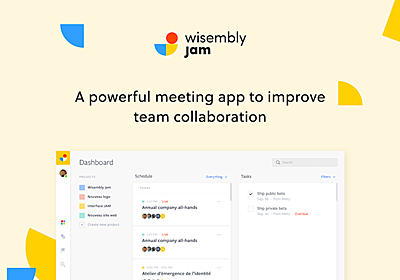 Wisembly Jam - Product Hunt