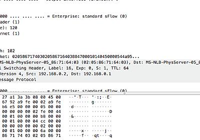 libwireshark のdissector を借りて、バイト列をパケットとしてデコードする - LGTM