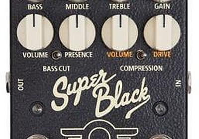 [MAD PROFESSOR Super Black] 艷やかなフェンダーブラックフェイスサウンドの出るエフェクター | エレキギター情報TGR