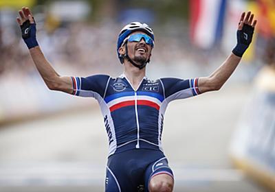 独走に持ち込んだアラフィリップが2年連続のアルカンシエルを獲得 - ロード世界選手権2021男子エリートロードレース