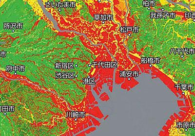 首都圏で地盤が不安な地域は一体どこなのか | 最新の週刊東洋経済 | 東洋経済オンライン | 経済ニュースの新基準