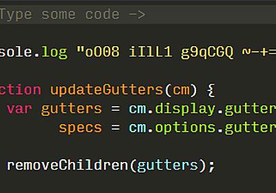 O(オー)と0(ゼロ)など紛らわしい文字が見分けやすくなるプログラミング用の無料フォントをまとめた「Programming Fonts」 - GIGAZINE