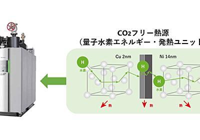 「核融合・熱」によるボイラーが実用化へ、金属積層チップで熱を取り出す