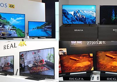 【2018年冬】今がまさに買い時! タイプ別4Kテレビ選び方ガイド - 価格.comマガジン