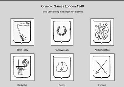 「競技ピクトグラムの発祥は勝見勝ら考案の1964年東京五輪」は嘘? - 事実を整える