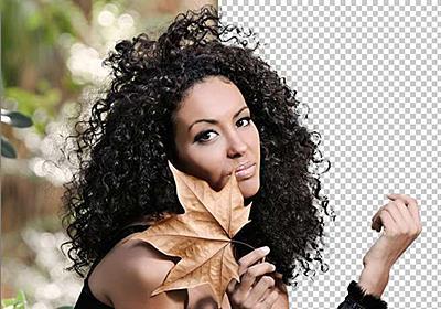 Photoshopで人物の髪の毛を「境界線の調整」を使って簡単に切り抜く方法 | 東京上野のWeb制作会社LIG