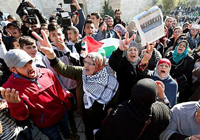 「首都」宣言後、初の金曜 エルサレムで礼拝、衝突も:朝日新聞デジタル