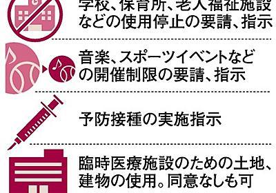 緊急事態宣言の「時期は近い」 政府内で高まる容認論 [新型コロナウイルス]:朝日新聞デジタル