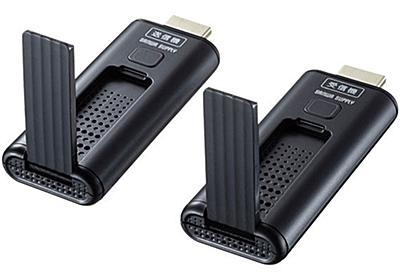 HDMI信号をワイヤレスで最大15m飛ばせるHDMIエクステンダー | マイナビニュース