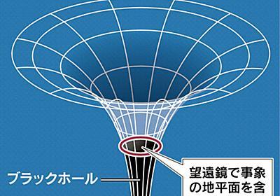 ブラックホール捉えた 100年越しの「存在証明」  :日本経済新聞