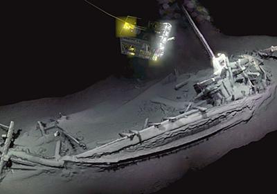 紀元前に沈んだ「世界で最も古い難破船」が海底から発見される - GIGAZINE