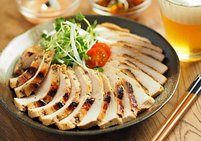 鶏むね肉を「タバスコとぽん酢しょうゆ」に漬けたら辛い! ウマい! ビールに手がのびる【筋肉料理人】 - メシ通 | ホットペッパーグルメ