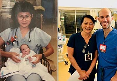 CNN.co.jp : 28年前に担当した赤ちゃんが同僚に、看護師が驚きの再会 米病院