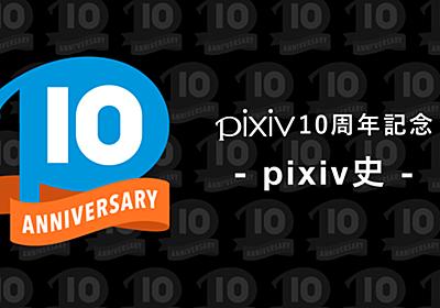 pixiv10周年記念特設サイト