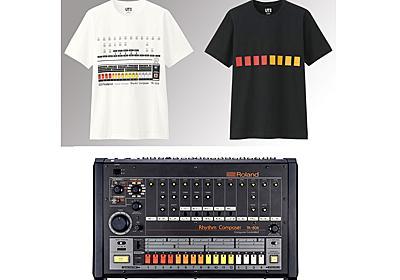 ローランド「TR-808」デザインのユニクロTシャツ。ケンウッドK'sスピーカーも - AV Watch