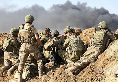 トルコ軍、クルド人地域への攻勢強める 国境の町に侵攻 写真14枚 国際ニュース:AFPBB News
