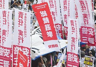 秋葉原に「安倍支持旗」が立ちまくった舞台裏 | 国内政治 | 東洋経済オンライン | 経済ニュースの新基準