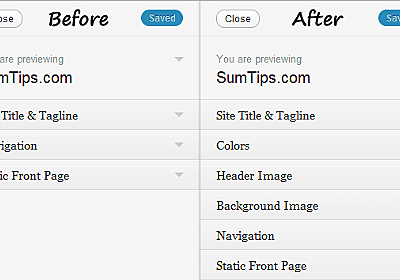 Add Support for Theme Customizer in WordPress 3.4 Themes | SumTips