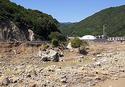 和歌山の集中豪雨で日高川の氾濫の被害にあった、お兄さんの家にお見舞いに行ってきました。(追記アリ) - 誰も知らない朝へ