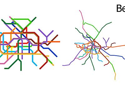 15 Subway Maps Compared to Their Actual Geography     «TwistedSifter