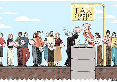 Sweetened charity - Charity and taxation