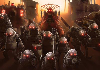 『NieR:Automata』のメカデザイン:機械生命体編 | NieR:Automata 開発ブログ