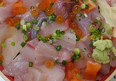 さかな屋さんの生ネタすし「海鮮丼」 - 金沢おもしろ発掘