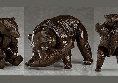 何作ってんすか(笑)北海道みやげ「木彫りの熊」がなんと可動式フィギュアで発売   雑貨・インテリア - Japaaan