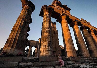 世界遺産の古代遺跡を襲うブルドーザーと略奪 リビア 写真20枚 国際ニュース:AFPBB News