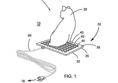 猫まっしぐら。キーボード型の猫用ヒーター、特許出願される | ギズモード・ジャパン
