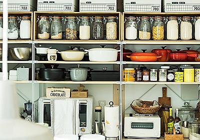 無印良品のユニットシェルフでつくる、キッチンのオープン収納術 - 北欧、暮らしの道具店