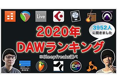 人気DAWランキング2020年 結果発表!3952人に聞きました