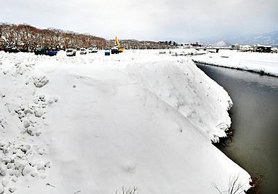 雪捨て場満杯、除雪業者が不満の声 福井市、校庭や公園も開放 | 社会 | 福井のニュース | 福井新聞ONLINE