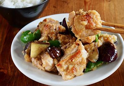 白飯誘導系おかず「鶏肉となすのしょうが焼き」は、玉ねぎの甘味としょうがの辛みの濃厚ダレがツボ【ヤスナリオ】 - メシ通 | ホットペッパーグルメ