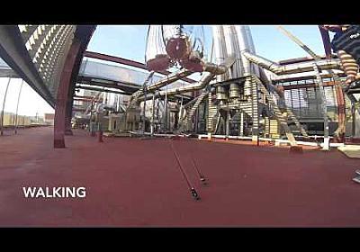 BALLU: Buoyancy Assisted Lightweight Legged Unit